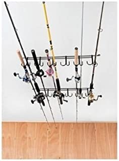 fishing rod storage hooks