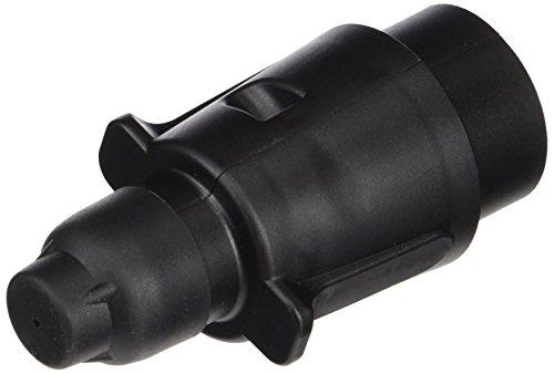HELLA 8JA 001 930-041 Stecker - 12V - 7-polig - Stecker: Flachstecker - schwarz