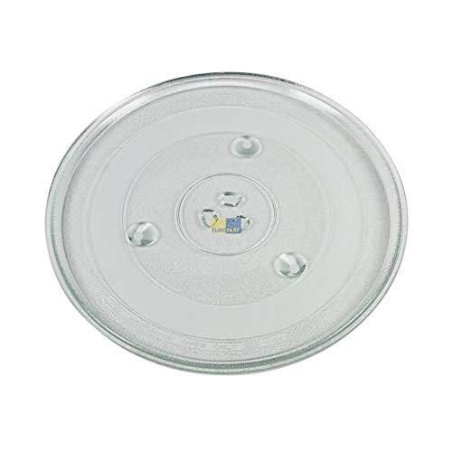 LUTH Premium Profi Parts Universal draaiplateau voor Samsung DE74-20015G glazen plaat 315 mm Ø voor magnetron