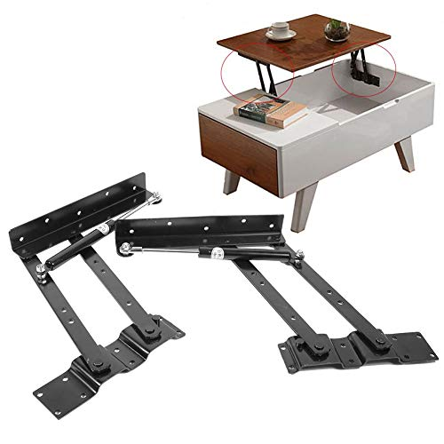 Hydraulische Scharniere für Möbel - 2x praktischer Hubmechanismus für Kaffeetische
