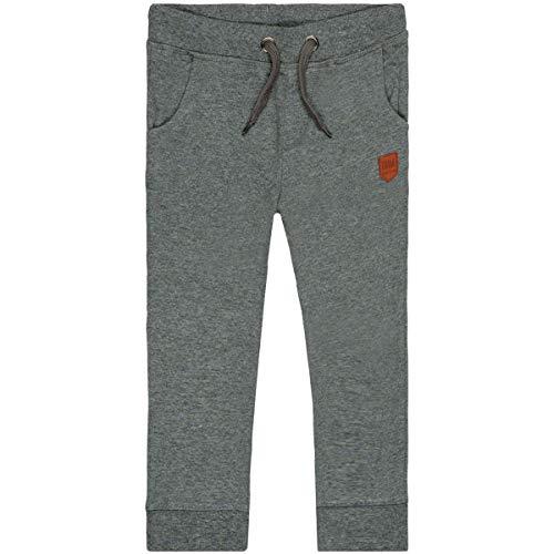 Staccato Jungen Jogginghose | Anthra Mel. 128/134 | Kordelzug | elastische Rippbündchen