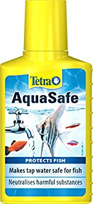 Tetra AquaSafe to Turn Tap Water into Safe and Healthy Water for Fish and Plants, 100 ml by TEZSY