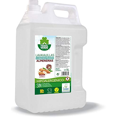 Lavavajillas almendras ECO Trébol Verde 750 ml
