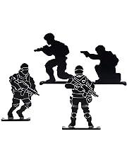 Training Practice Shooting Outdoor Soldaat Schieten Target 4 Stuks