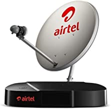 Airtel Digital TV HD Set Top Box with 6 Month My Family Pack