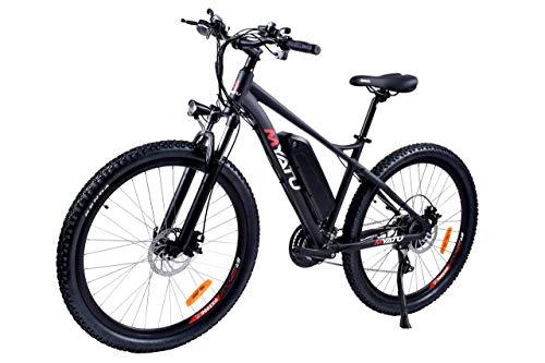 AUTOKS Bicicleta eléctrica de 27.5