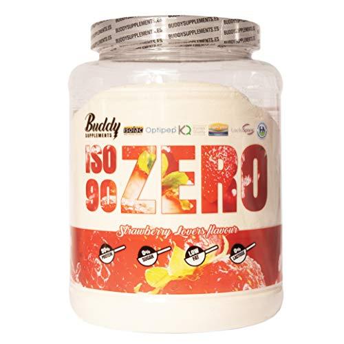 Proteine in Polvere Whey Isolate del Siero del Latte | Senza Zucchero e Lattosio per Aumento Massa Muscolare | Protein ISO 90%