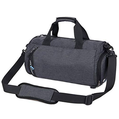 Borsa da palestra in nylon di grande capacità impermeabile borsa fitness sport all'aperto borsa per uomini e donne, grande capacità Holdall con tracolla per palestra, sport