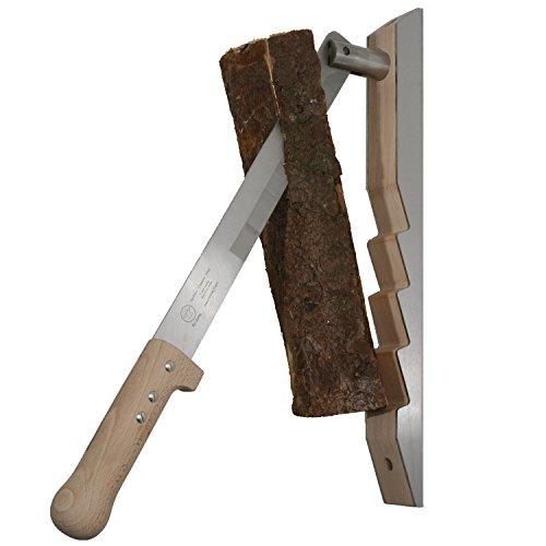 Red Anvil #1301-G Splitter Holzspalter für Anmachholz aus Buche/Edelstahl geeignet für Hart- und Weichholz. Hand made in Germany