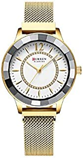 Curren Casual Watch For Women Analog Stainless Steel - 9066