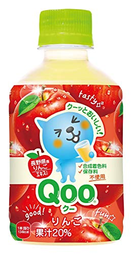 コカ・コーラ ミニッツメイド Qoo クー わくわくアップル 280mlPET×24本