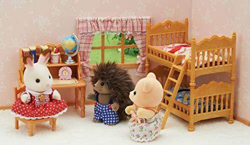 Sylvanian Families - Le Village - La Chambre des enfants - 5338 - Meubles et Accessoires Poupée - Mini Poupées