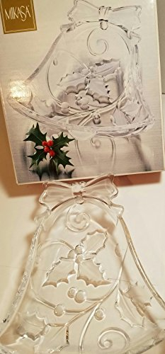 """Season's Holly Bell Candy Dish 7"""""""