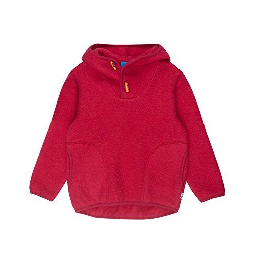 Finkid Jussi Wool Rot, Kinder Sweaters und Hoodies, Größe 100-110 - Farbe Persian Red