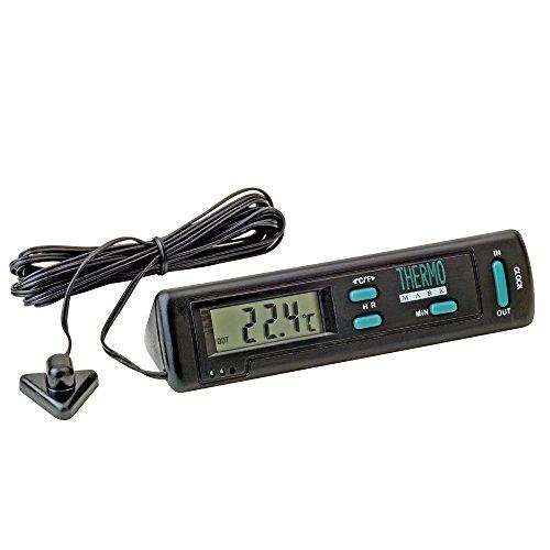 Sumex 2808060 - Termómetro Doble Temperatura Interior/Exterior Con Avisador Alarma Hielo