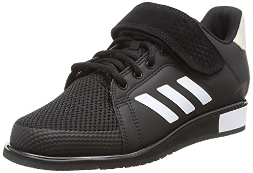 Adidas Power 3 Bb6363, Zapatillas de Deporte para Hombre, Negro (Core Black/Footwear White/Matte Gold 0), 42 2/3 EU