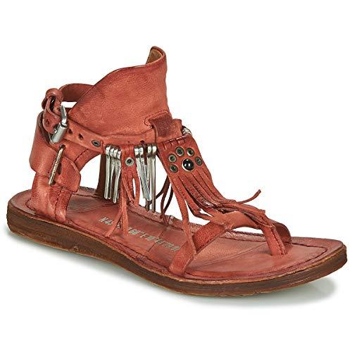 airstep / a.s.98 Ramos Sandalen/Sandaletten Damen Rot - 38 - Sandalen/Sandaletten Shoes