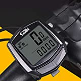 ZHINAN Bicycle Speedometer Waterproof Cycling Computer Multifunction Odometer Stopwatch Riding Accessories Clock Wired Sensor Digital Backlight