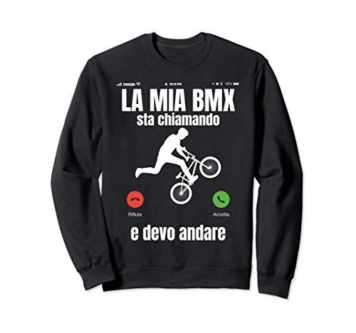 BMX Divertente Freestyle Bicicletta Bici Regalo Felpa