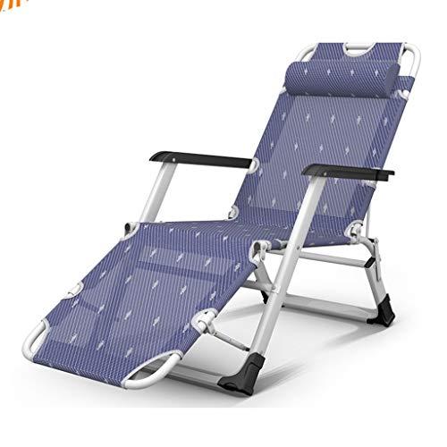 Lits de Camp et hamacs Camp Pliable Pliage des Lits D'invités Chaise Pliante Portative À La Maison Lit Se Pliant Lit De Sieste De Bureau Capacité 300kg Mobilier de Camping
