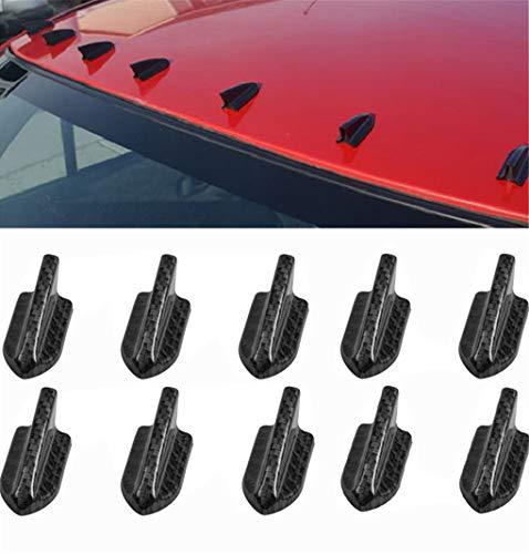 10 unidades de difusor de cuerpo de aleta de tiburón flexible Vortex...
