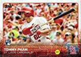 2015 Topps Update Baseball #US13 Tommy Pham Rookie Card. rookie card picture