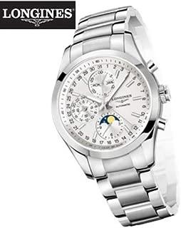 [ロンジン] 腕時計 コンクエスト クラシック 41mm シルバー ダイヤル自動巻 L2.798.4.72.6
