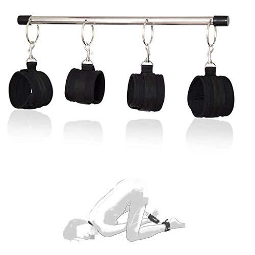 YUXIANG Percha de metal de acero inoxidable ajustable para corrección de forma de capacidad gimnástica, con cuatro puños