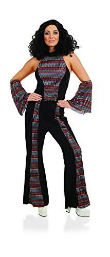 Fun Shack FN4155L kostuum, dames, regenboog Disco koorts pak, groot