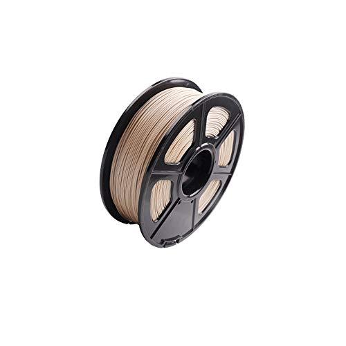 SHENLIJUAN. 3D Warhorse Echtholz PLA 3D-Drucker Filament Holz Filament 1,75 mm, 1 kg (2,2 Pfund) Spulen-Maßgenauigkeit Holz Filament
