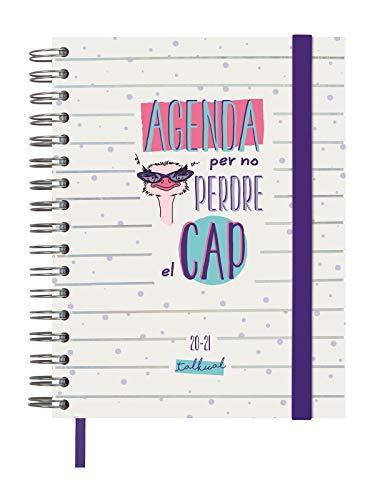 Finocam - Agenda Curso 2020-2021 Cuarto-155x217 Semana Vista Apaisada Cabeza Blanco Catalán - 188 x 220 mm