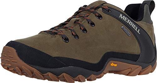 Merrell mens Cham 8 Ltr Wp Hiking Shoe, Olive, 10 US