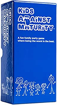 Kids Against Maturity  Card Game for Kids and Families Super Fun Hilarious for Family Party Game Night