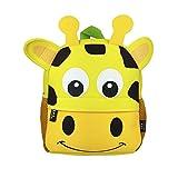 DMM Supplies Mochila Happy Animals Jirafa Guardería, Unisex niños,...