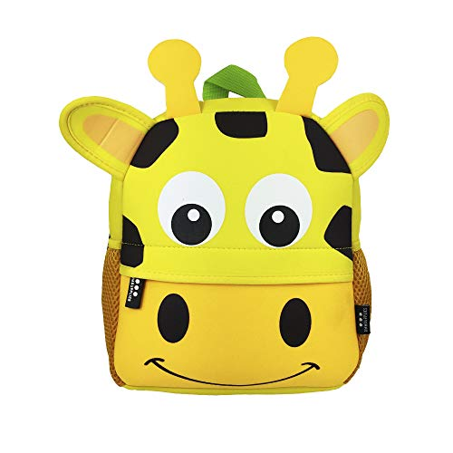 DMM Supplies Mochila Happy Animals Jirafa Guardería  Unisex niños  Amarillo  Talla