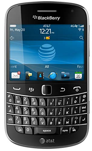 BlackBerry Bold 9900 Phone (AT&T) (Renewed)