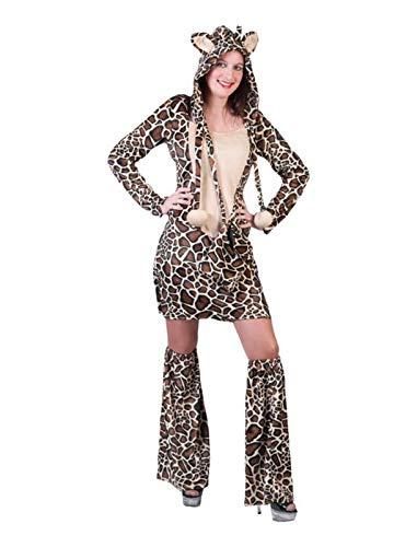 EA - Disfraz de jirafa para mujer, talla S/M