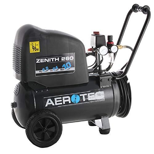 Aerotec Druckluft-Kompressor Zenith 260 Pro 24l 10 bar
