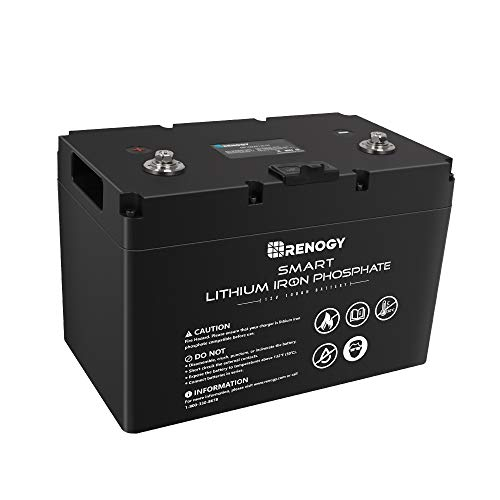 Renogy Smart Lithium Iron Phosphate Battery