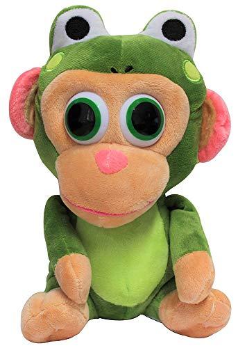 Wonder Park Chimpanzombie-knuffel, knuffel vermomd, stoffen figuur om te knuffelen, spelen en verzamelen, 27 cm (Kikker)