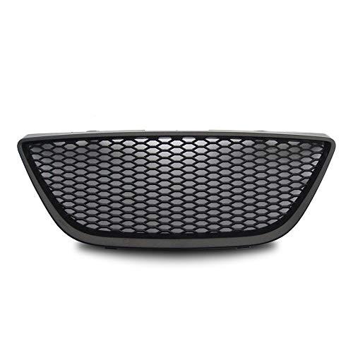 JOM Car Parts & Car Hifi GmbH 6J853653JOE calandre de radiateur sans Sigle Compatible avec Seat Ibiza 6J, 08-, Nid d'abeille Look - Qualité Allemande