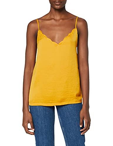 Only Onldebbie Singlet Noos Wvn Camiseta, Amarillo (Mango Mojito Mango Mojito), 38 (Talla del Fabricante: 36.0) para Mujer