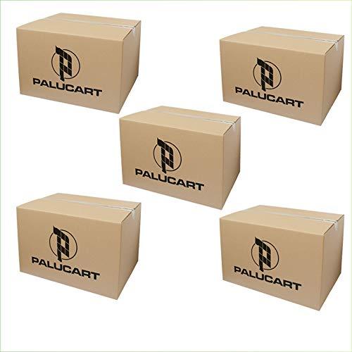 palucart 5 cajas mudanza 60 X 40 X 40 cajas de cartón Cartón cajas ...