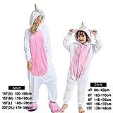 Czc-dp Cartoon Kostüme Winter-Tier-Strampler Kids Pyjamas Nachtwäsche for Frauen Erwachsener Baby-Kleidung Jungen Nachtwäsche Overalls (Farbe: Golden Horn 2, Größe: 10)