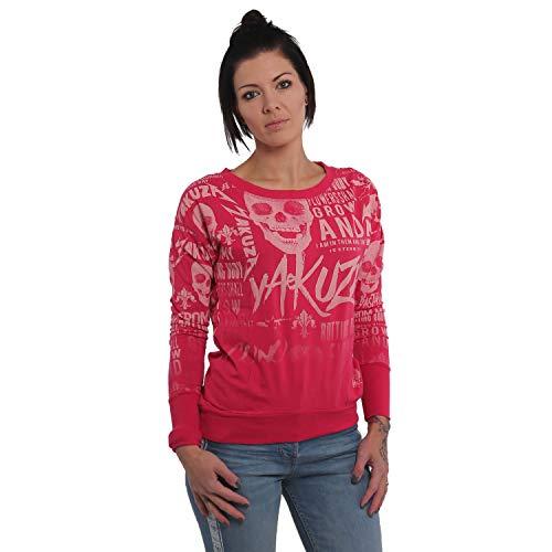 Yakuza Damen Rotting Body Gradient Shirt Longsleeve