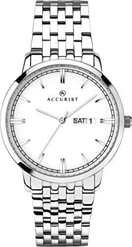 Accurist Watches Orologio Quarzo con Cinturino in Acciaio Inox 7240