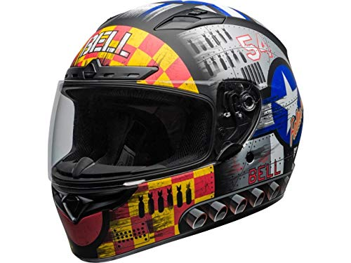 BELL HELMET QUALIFIER DLX MIPS DEVIL MAY CARE GREY L