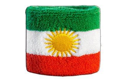 Flaggenfritze® Schweissband Kurdistan