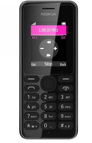 Nokia 108 Mobile Phone - Black