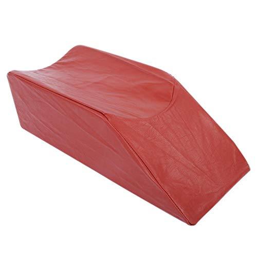 Almohadilla para elevador de piernas Espuma Soporte para reposapiernas Soporte para almohadas Soporte para el dolor de rodilla Descanso Soporte para almohadas para dormir y almohadas(marrón)